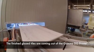 Durst Digital Glaze Printing