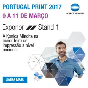 Konica Minolta na Portugal Print 2017