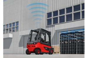 O Linde SpeedAssist garante o controlo da velocidade de forma prática, fácil e rápida e baseia-se em sensores de radar que cobrem um alcance de entre 1 e 24 metros.