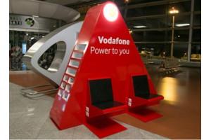 Vodafone no aeroporto