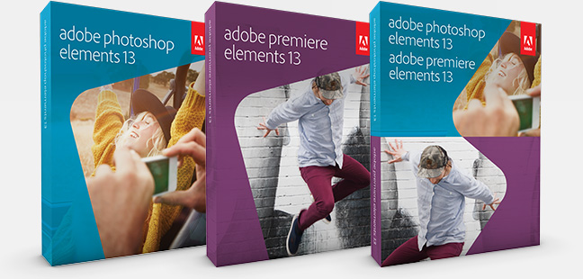 Photoshop e Premiere Elements 13