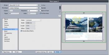 QXP10 Print Preview