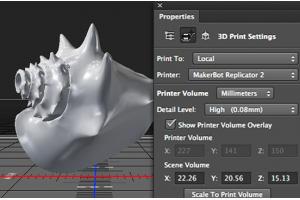Impressão 3D no Photoshop