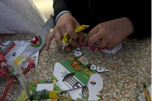 recycle hands