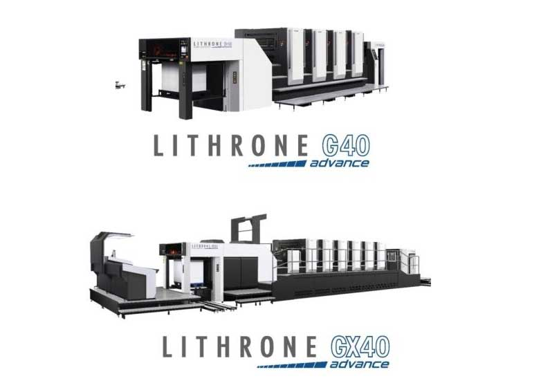 Komori Lithrone GX 40 Advance